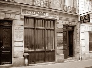 Academie de la Grande Chaumiere Paris